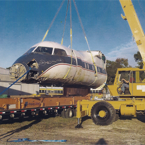 Aircraft Recovery Transport by Florida Air Recovery